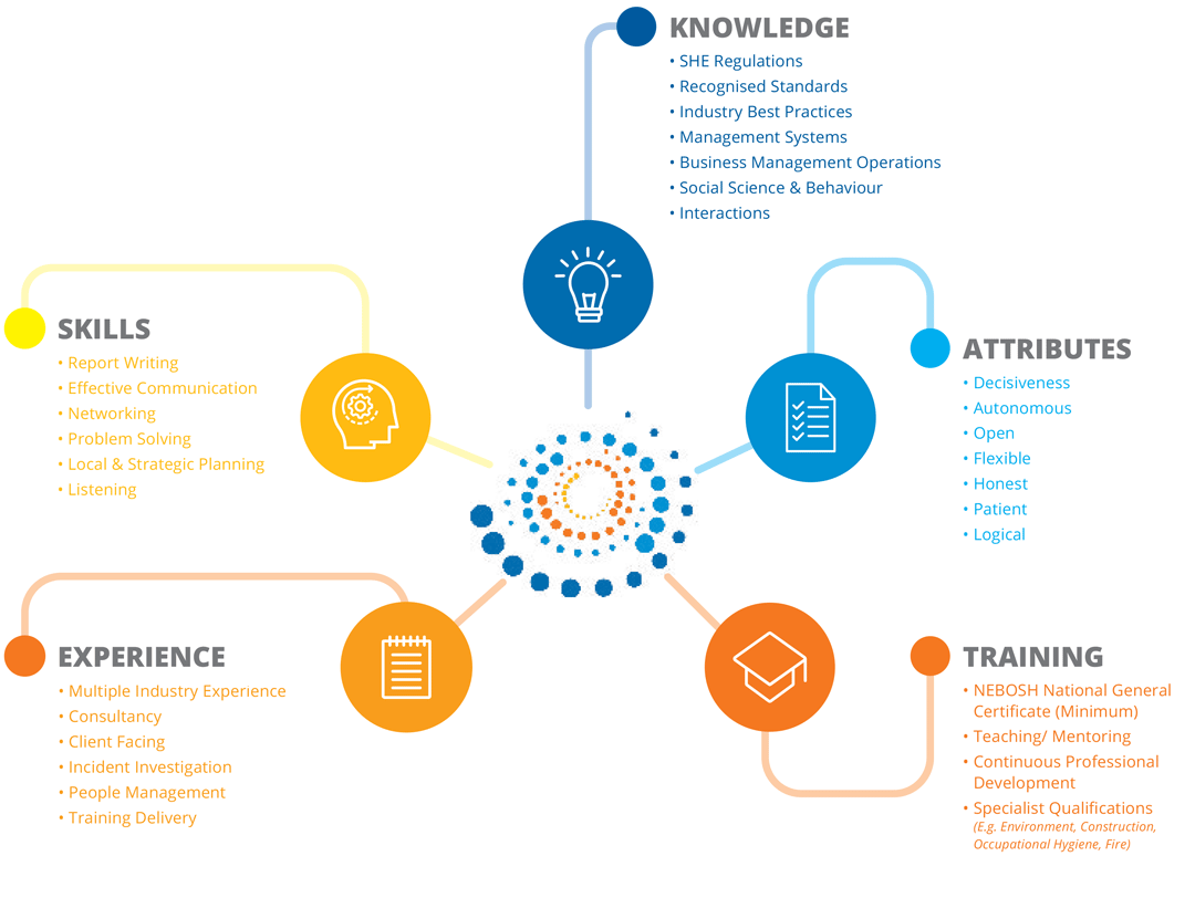 The competency stages